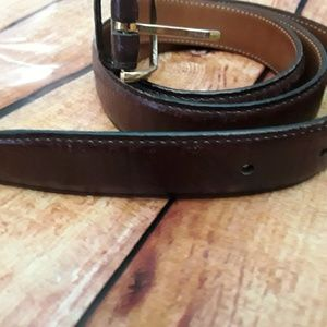 NWOT Perry Ellis Portfolio Full-Grain Cowhide Belt